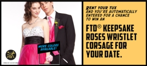 Prom flowers from FTD