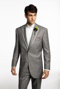 Calvin Klein Gray Prom
