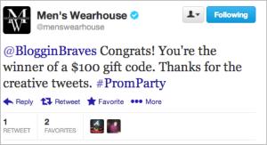 menswearhouse congrats