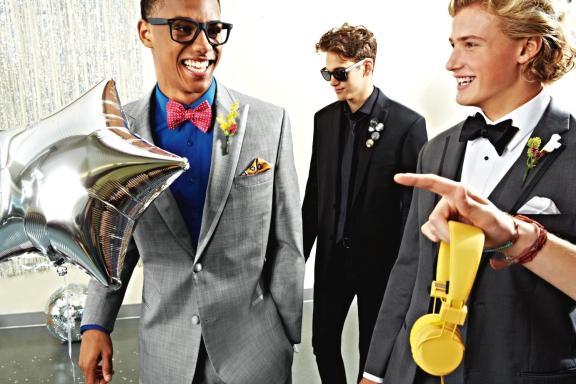 boys in tuxedos